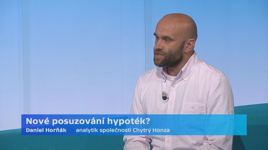 Video Analytik společnosti Chytrý Honza Daniel Horňák k novému posuzování hypoték