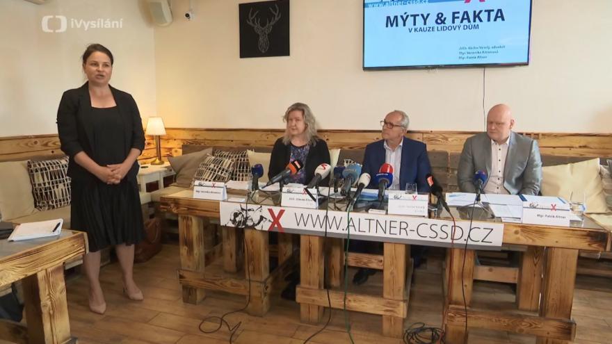 Video ŽIVĚ: Tisková konference dědiců Zdeňka Altnera