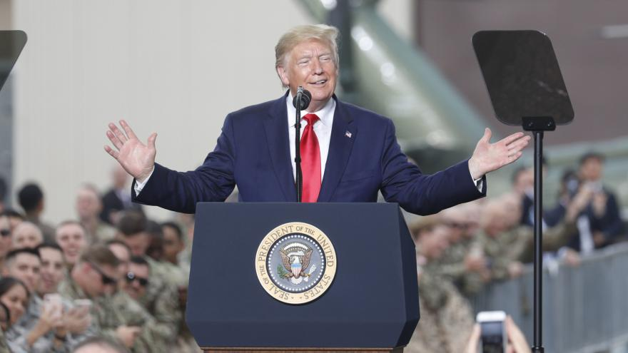 Video Trump o svém setkání s Kimem