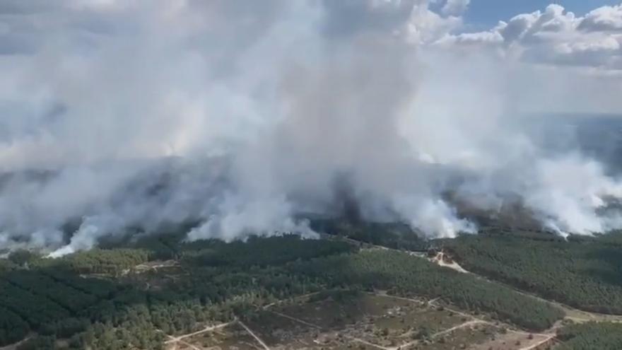 Video Požáry v Meklenbursku