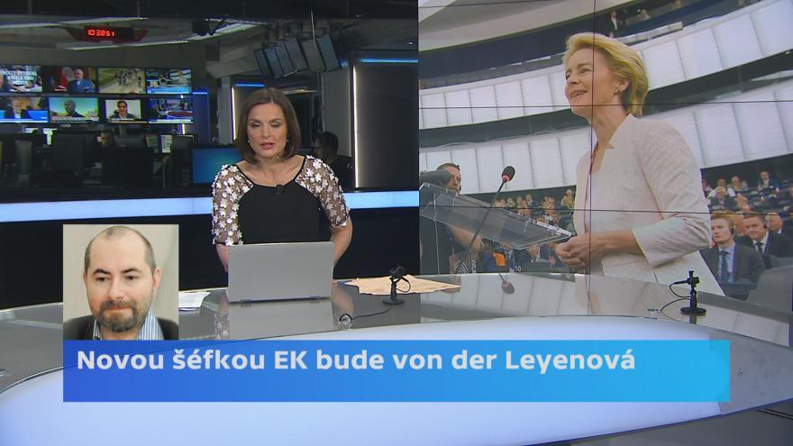 Video Novou šéfkou EK bude von der Leyenová