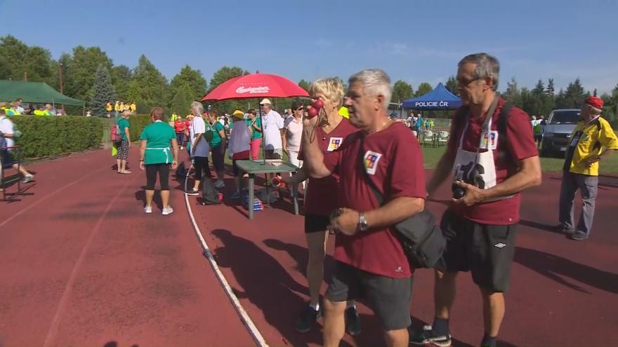 Video IV. mezinárodní sportovní hry seniorů