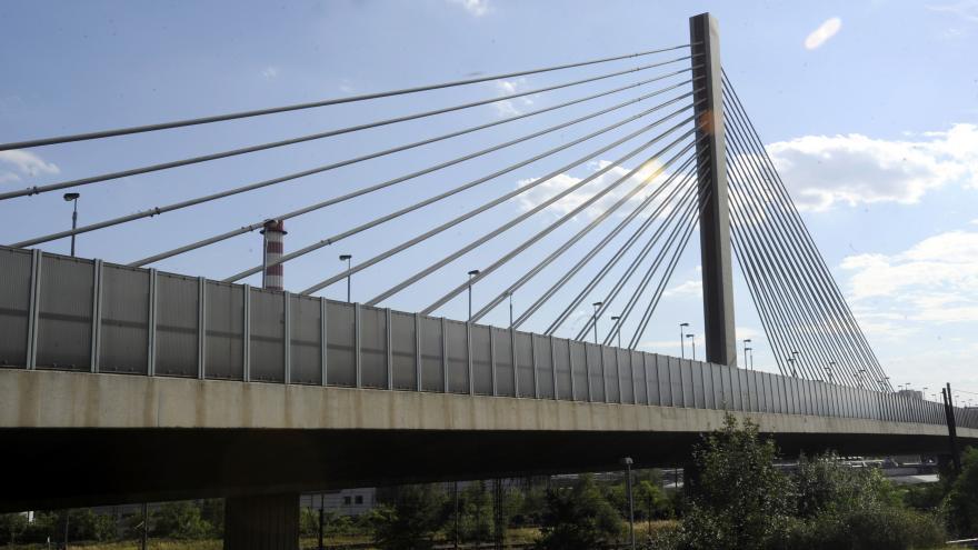 Video Lanový most na Jižní spojce řidiči o víkendu neprojedou