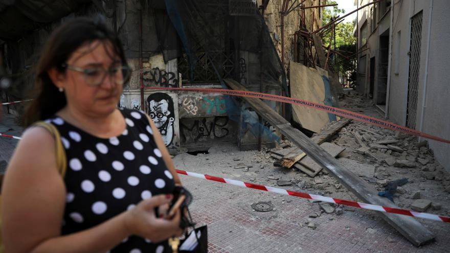 Video Spolupracovník ČT Kulidakis: Zemětřesení bylo cítit i ve středním Řecku