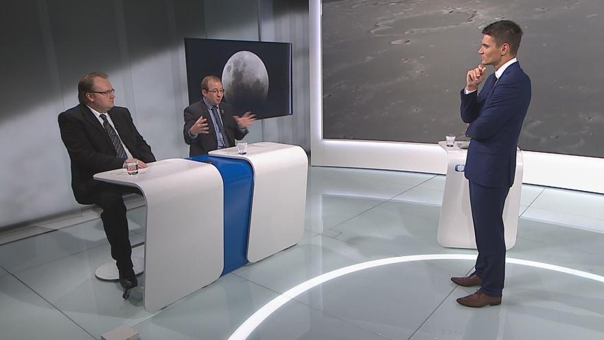 Video Mimořádné pořady ČT24 - 50 let od přistání na Měsíci