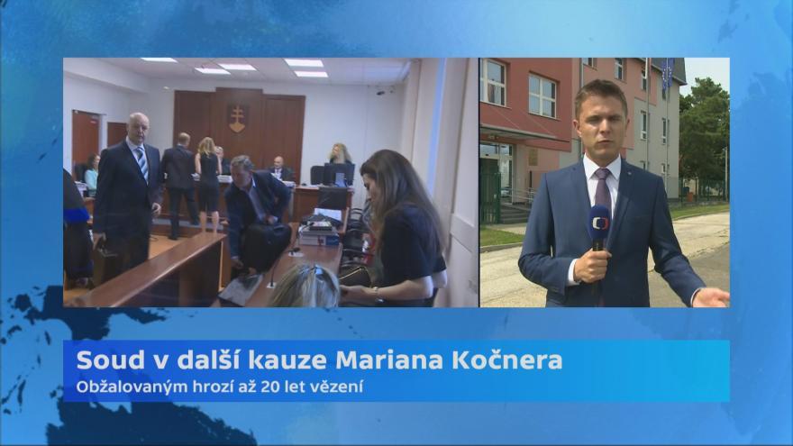 Video Soud v další kauze Mariana Kočnera