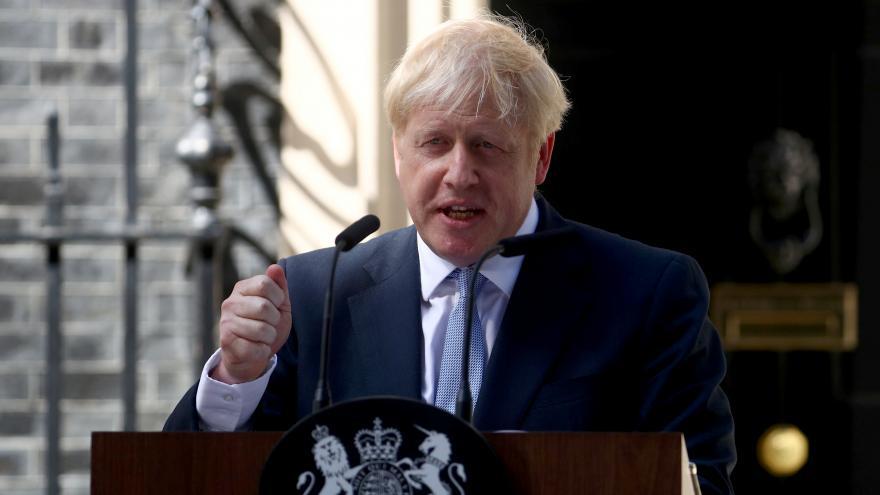 Video Projev Borise Johnsona po nástupu do úřadu
