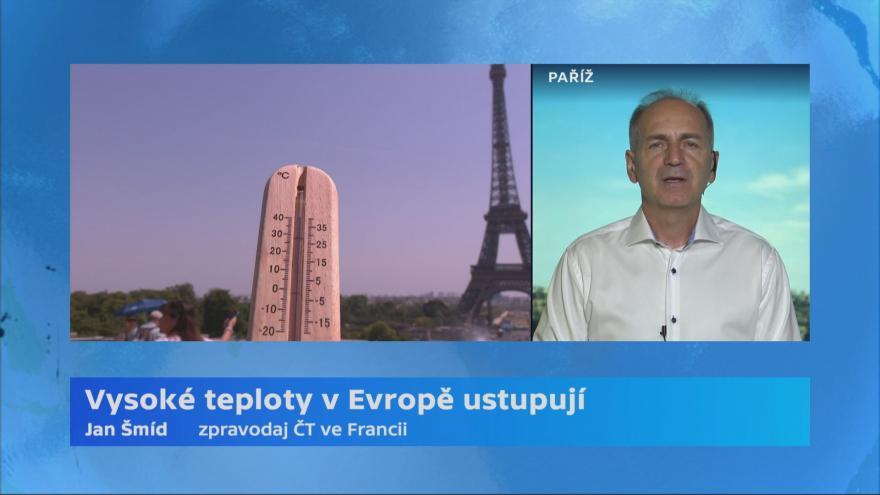 Video Horké dny v Evropě ustupují