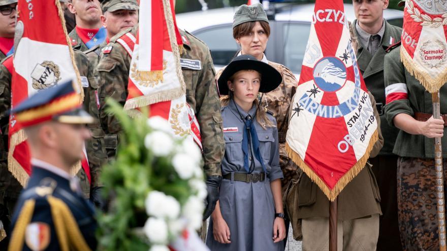 Video SLEDUJTE: Varšava si připomíná 75 let od protinacistického povstání