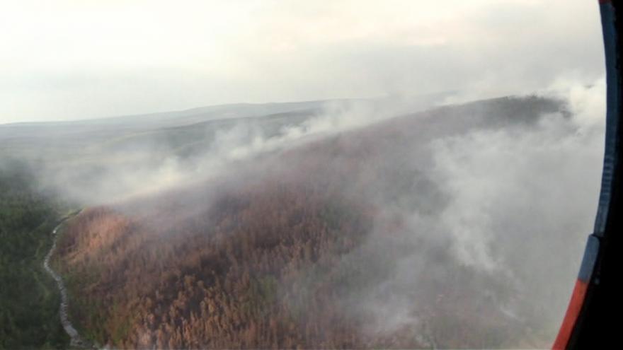 Video 90' ČT24 - Požáry na Sibiři