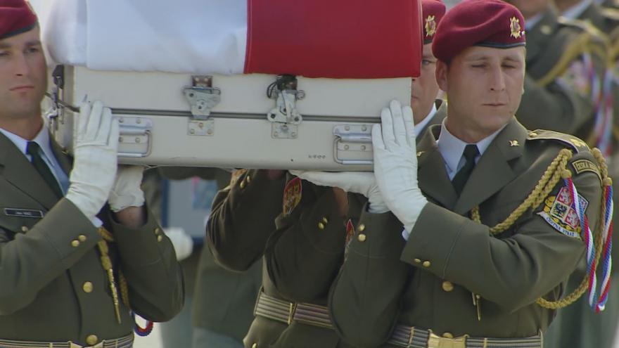 Video Před rokem byli zabiti tři čeští vojáci v Bagrámu. Armáda si je připomíná pietními akty
