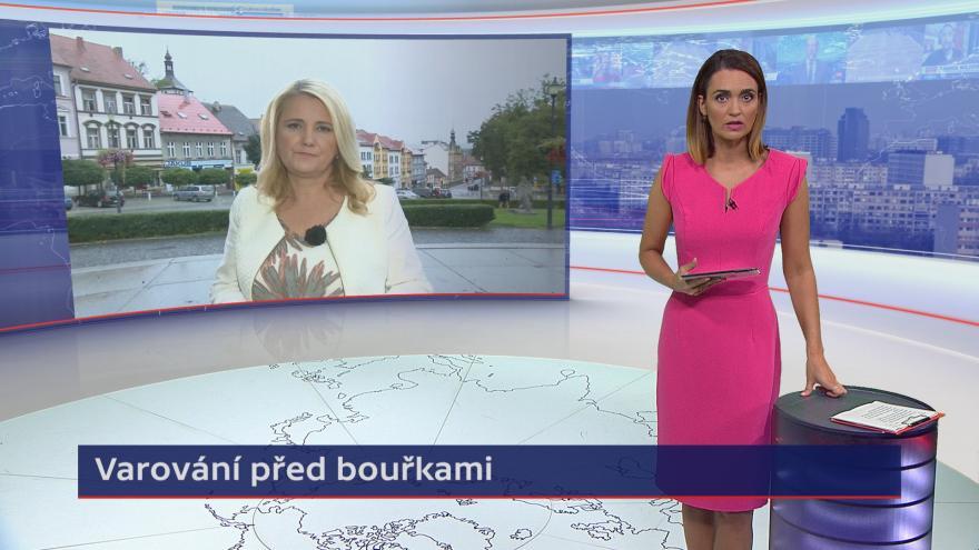 Video Události ČT: Varování před bouřkami