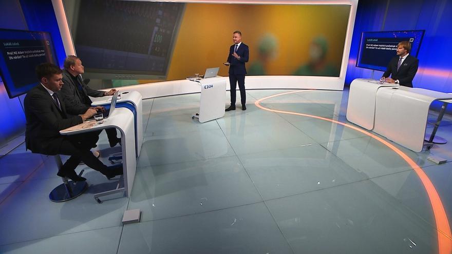 Video 90' ČT24 - Peníze na vybavení nemocnic, nebo na platy?