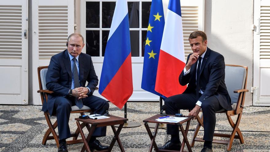 """Video Události ČT: Putin podpořil """"normandský formát"""" jednání o Ukrajině"""