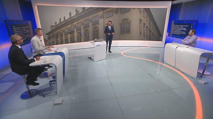 Video 90' ČT24 - Pokračující spor o ministra kultury