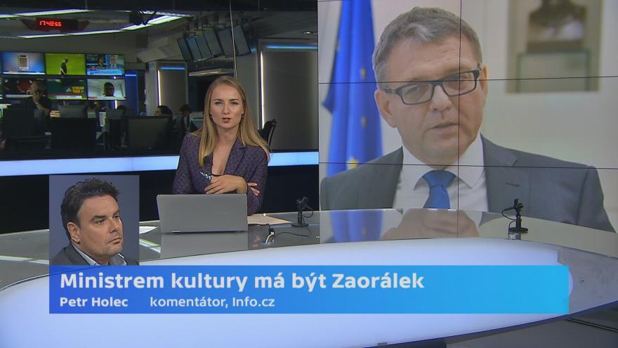 Video Komentátor Info.cz Petr Holec k nominaci Zaorálka na post ministra kultury