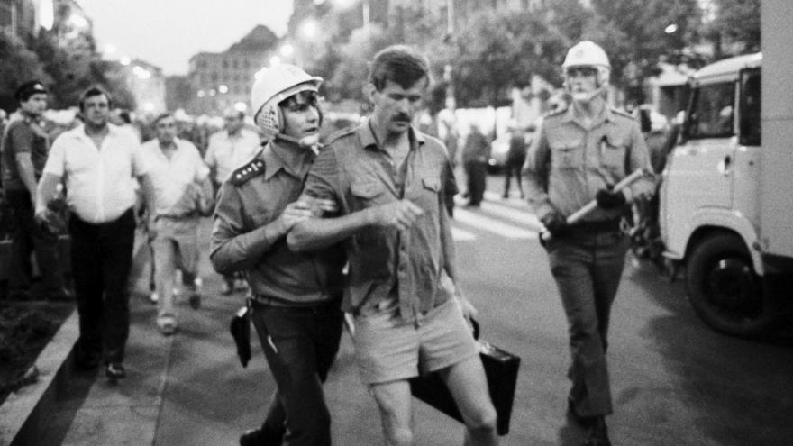 Video Demonstrace 21. srpna 1989