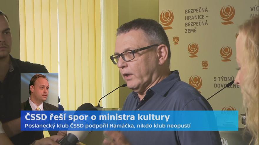 Video Politolog Bureš k situaci v ČSSD