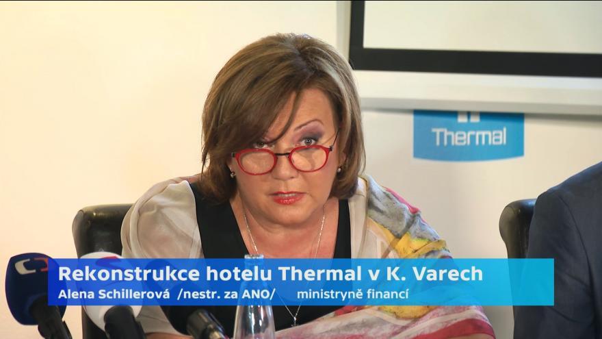 Video Hotel Thermal se i s bazénem dočká rekonstrukce
