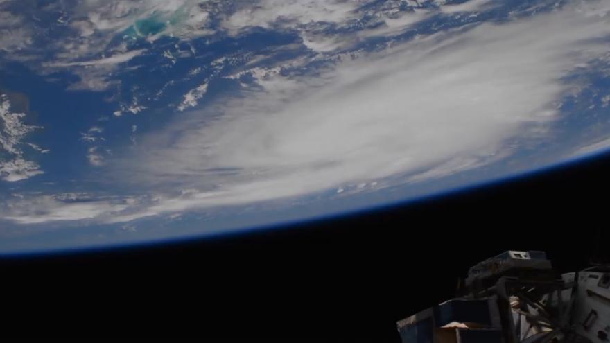 Video Hurikán Dorian pohledem z Vesmíru. Unikátní záběry NASA