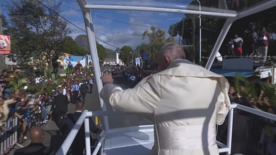 Video Papež se rozloučil s Afrikou na Mauriciu, v zemi podle něj nejvíce trpí mladí lidé