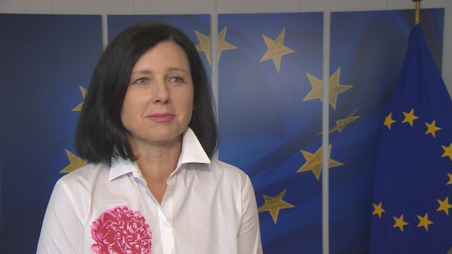 Video Věra Jourová o svém dosazení na post místopředsedkyně Evropské komise