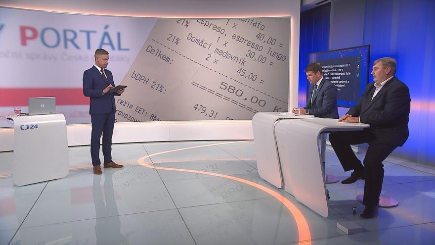 Video 90' ČT24 - Rozšíření EET znovu ve hře?