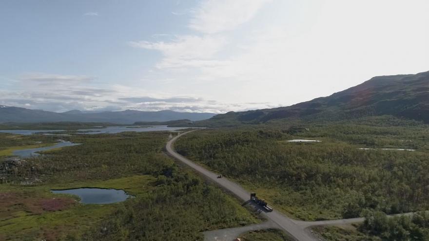 Video Horizont ČT24: Švédsko kvůli změnám klimatu přišlo o svůj nejvyšší bod