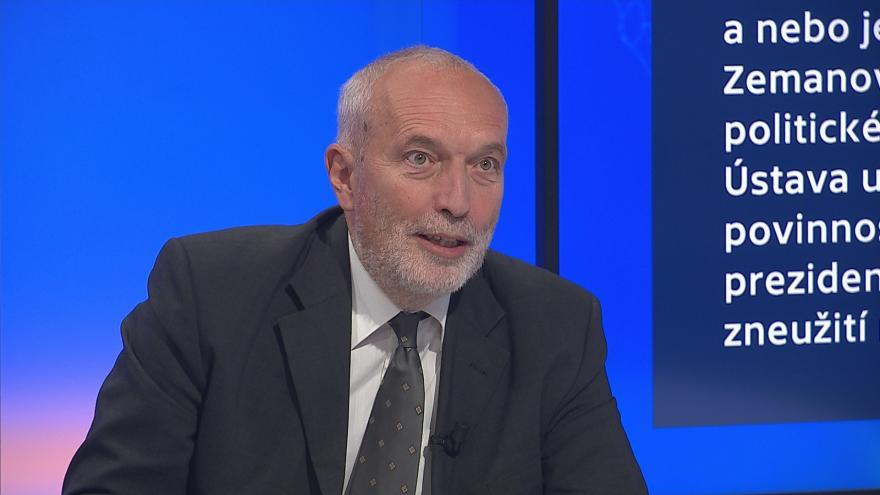 Video 90' ČT24 - Poslanci o ústavní žalobě na prezidenta Zemana