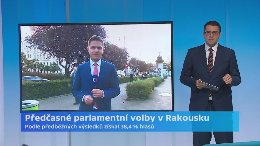 Video Zpravodaj ČT Petr Obrovský k situaci po volbách v Rakousku