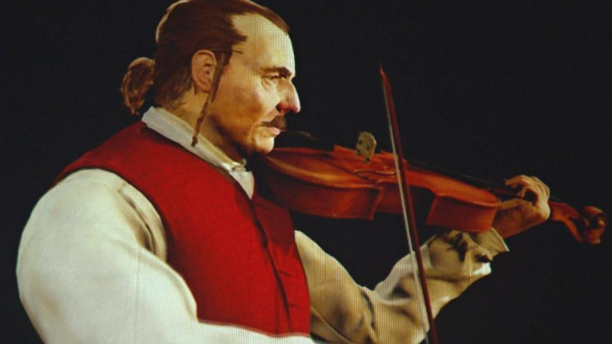 Video Na animaci Trenck zahraje i na housle