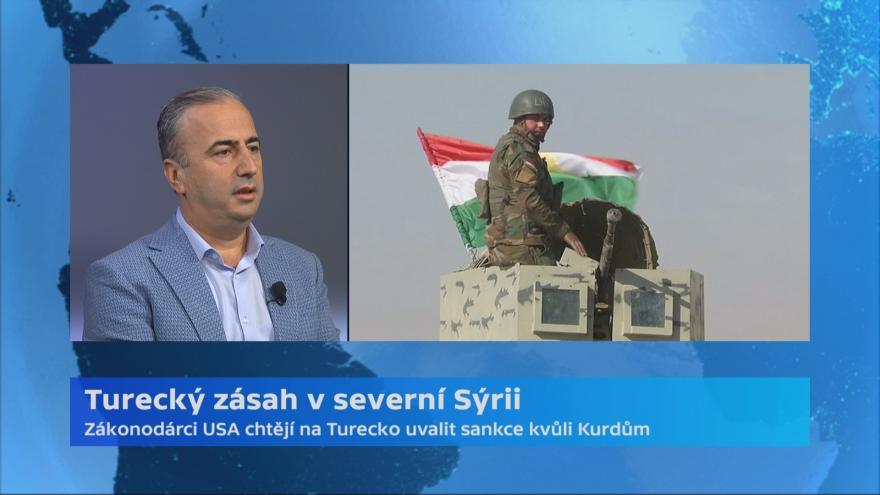 Video Turecko zaútočilo na Kurdy v Sýrii