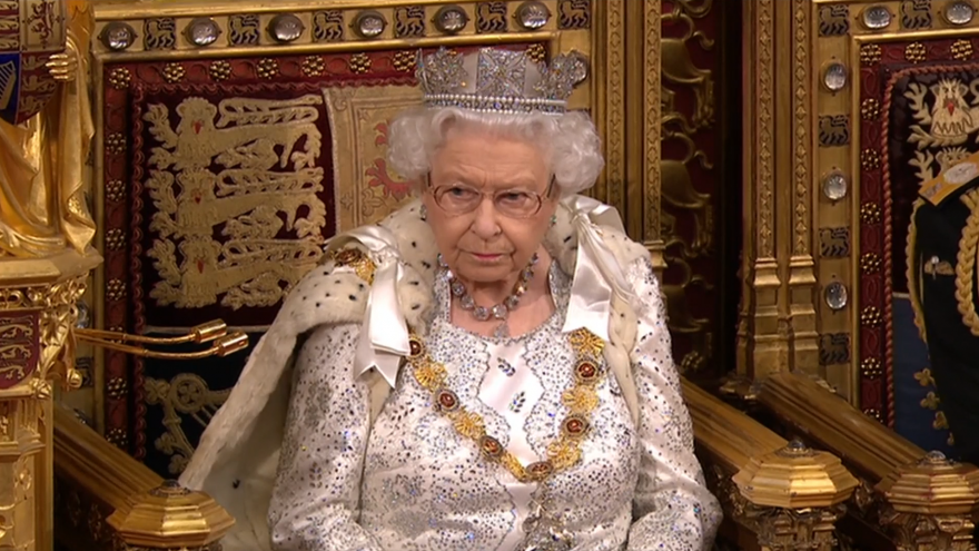 Video Projev britské královny