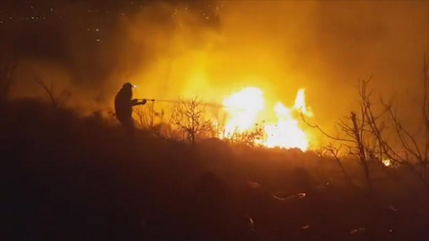 Video Požáry v Libanonu. Země žádá o mezinárodní pomoc