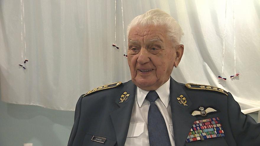 Video Muzeum nese jméno pilota RAF Emila Bočka