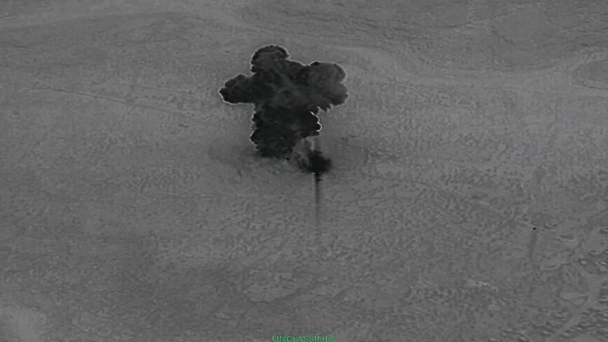 Video Američané zveřejnili záběry z akce proti Bagdádímu