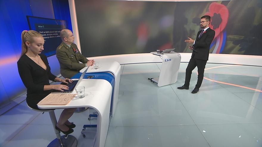 Video 90' ČT24: Svět vzpomínal na válečné veterány