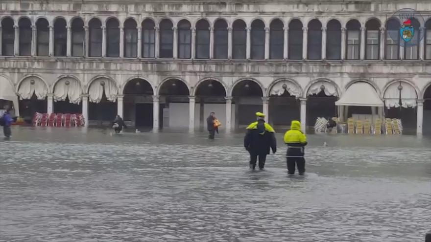 Video Benátky pod vodou