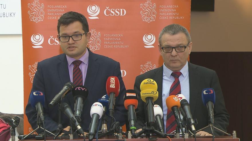 Video ČSSD podpoří, aby se o auditu mluvilo ve sněmovně, oznámil Chvojka