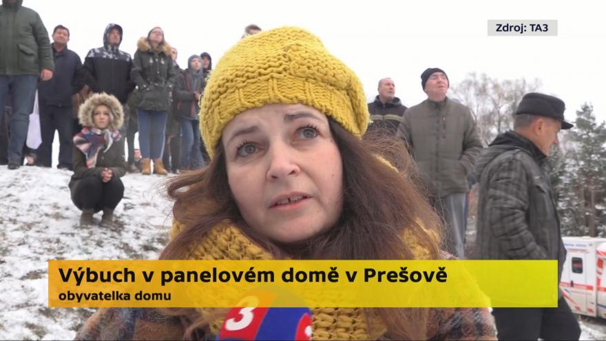 Video Rozhovor s obyvatelkou domu v Prešově