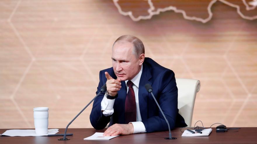 Video Tisková konference Vladimira Putina