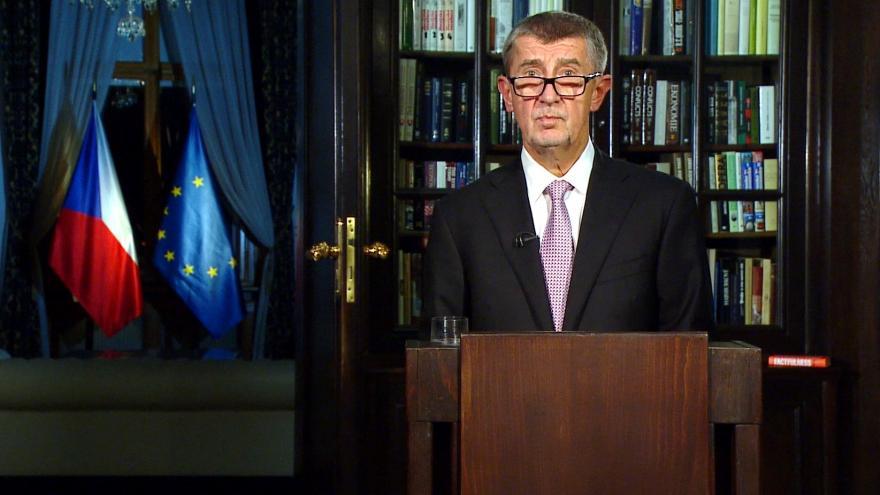 Video Mimořádné pořady ČT24 - Novoroční projev předsedy vlády
