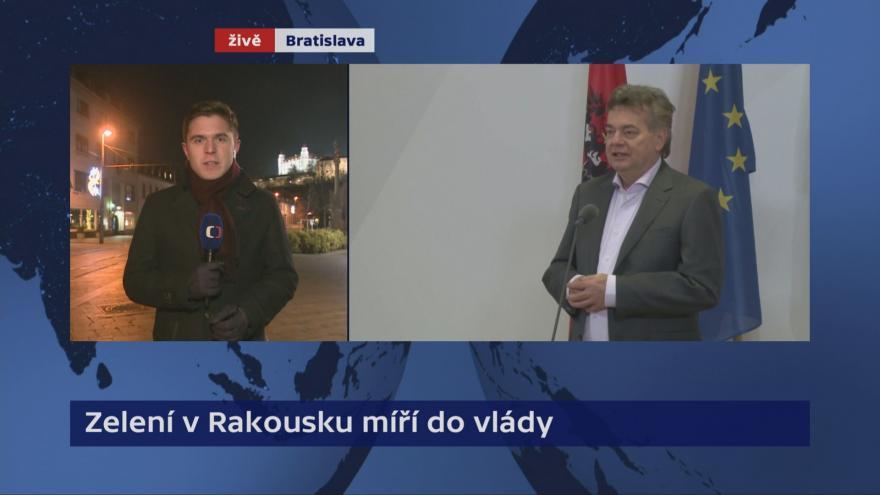 Video Události, komentáře: Kurz a Kogler představili program rakouské vlády