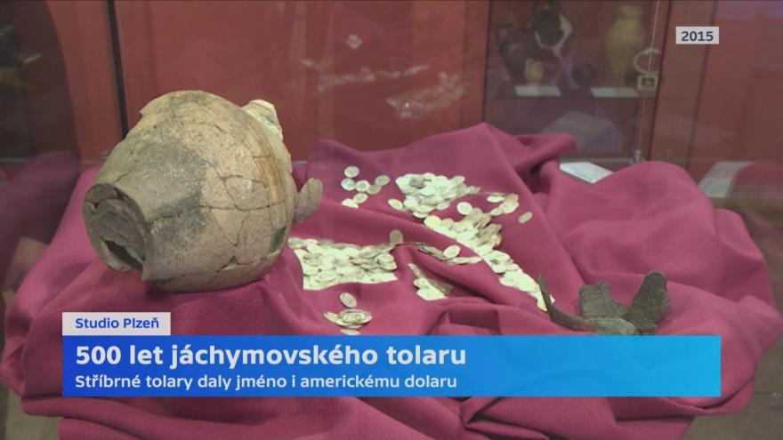 Video Jáchymovský tolar vznikl před 500 lety
