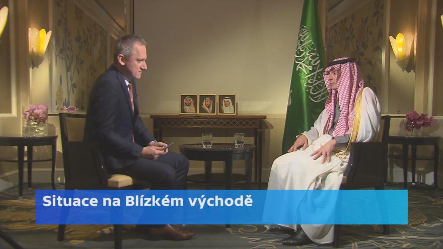 Video Rozhovor se saúdským ministrem zahraničí