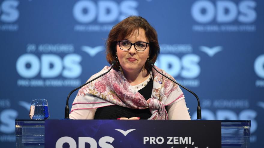 Video Na post první místopředsedkyně ODS se přihlásila Marie Kubíková