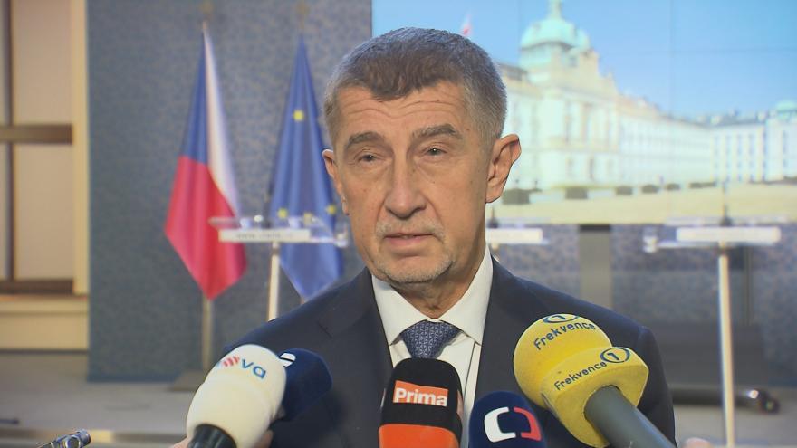 Video Premiér Andrej Babiš k odvolání ministra dopravy Kremlíka