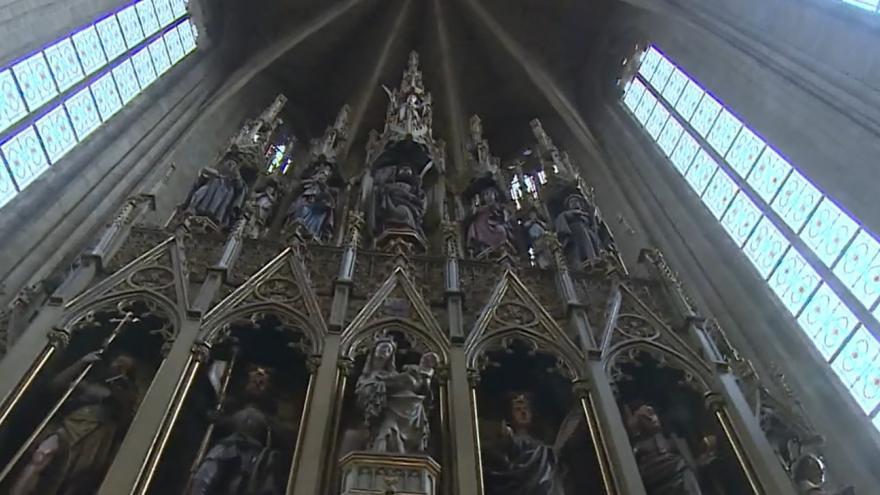 Video Pod lešením. Plzeňská katedrála prochází rozsáhlou rekonstrukcí