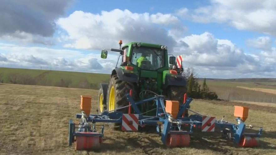 Video Otrávené návnady skryje stroj pod zem. Zemědělci mají nový způsob boje proti hrabošům
