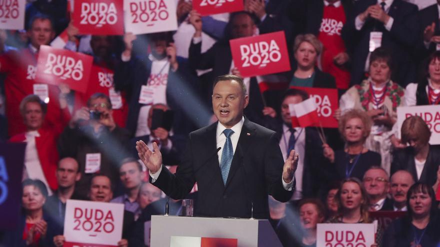 Video Události ČT: Začala kampaň prezidenta Andrzeje Dudy za znovuzvolení
